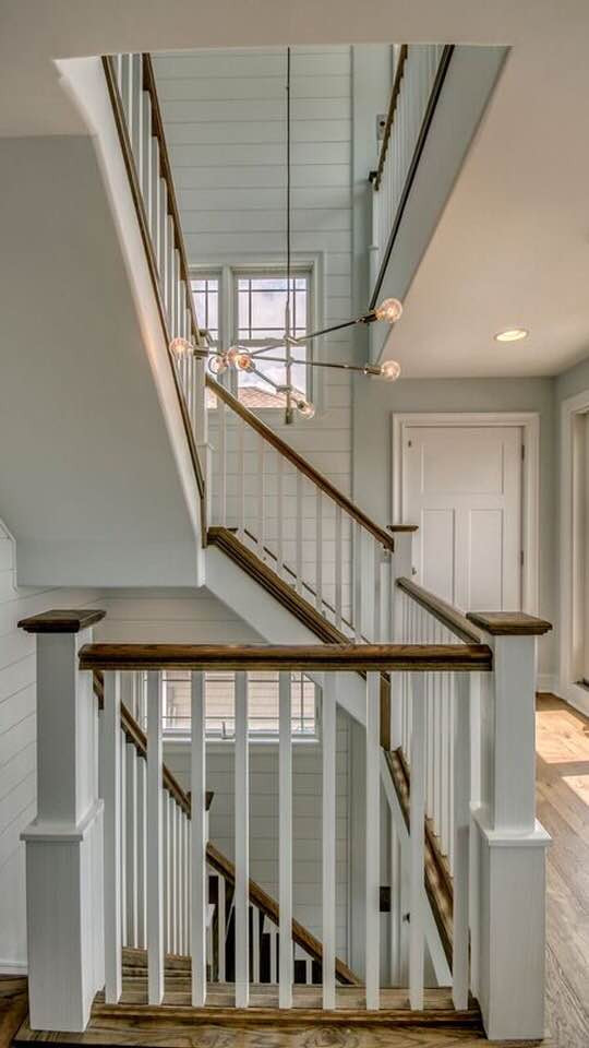 Traditional: Staircase Modern: Light Fixture Farmhouse: Shiplap Transitional: Doorstyle  Avalon, NJ