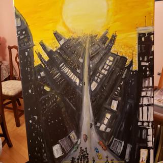 """""""NYC Sunset"""""""