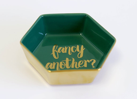 'fancy another?' dish
