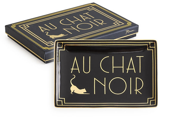 'au chat noir' tray