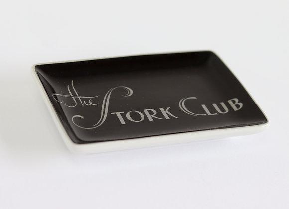 'the stork club' tray