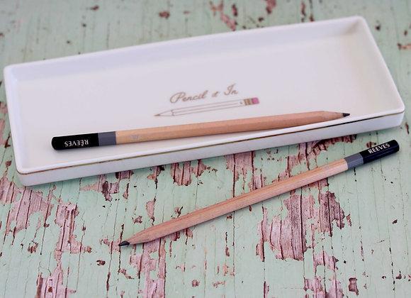 'pencil it in' tray