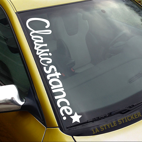 Classicstance* Frontscheibenaufkleber