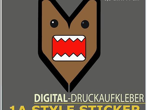 Domokun Sticker Wakaba Pfeil Aufkleber Stickerbomb Motiv DRIFT STYLE JAPA