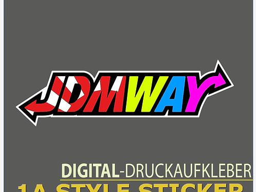 JDMWAY Aufkleber JDMStyle