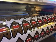 Herstellung Frontscheibenaufkleber