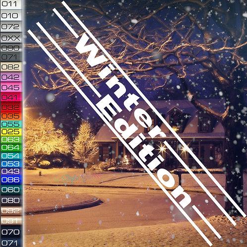 Winter Edition Autoaufkleber W87