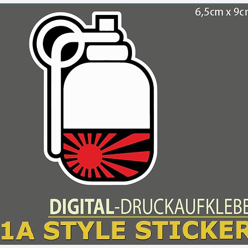 JDM BOMB Sticker Japan Style Drift Aufkleber für Skyline Nissan GTR HP
