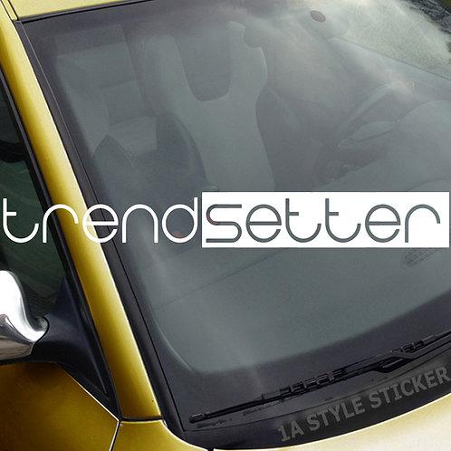 trend setter Frontscheibenaufkleber Tuningsticker Autoaufkleber Uni Farben Sticker Tuningaufkleber Tuningszene