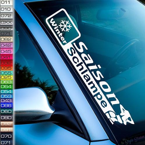 Saison Schlampe Frontscheibenaufkleber Tuningsticker Autoaufkleber Uni Farben Sticker Tuningaufkleber Tuningszene