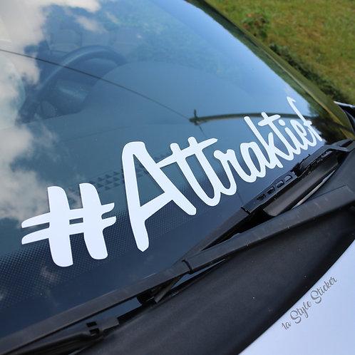 #Attraktief Frontscheibenaufkleber Tuningsticker Autoaufkleber Uni Farben Sticker Tuningaufkleber  Tuningszenenaufkleber