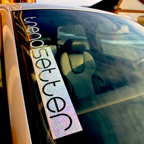 trendsetter Glitzerflakes Tuningsticker Frontscheibenaufkleber Autoaufkleber Effektfolie Custom Sticker Glitter Hologramm