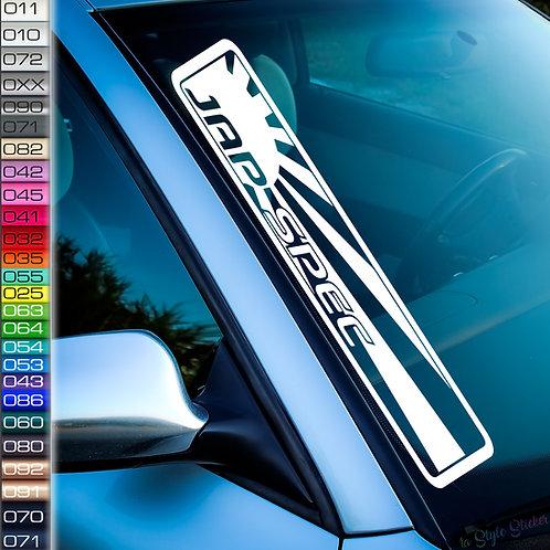 Jap Spec Frontscheibenaufkleber Tuningsticker Autoaufkleber Uni Farben Sticker Tuningaufkleber Tuningszene