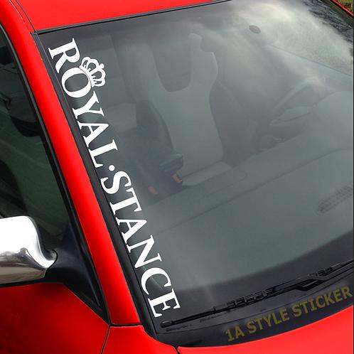 Royal Stance Aufkleber Krone