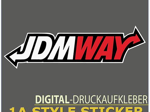 JDMWAY Aufkleber JDMStyle Japan Style Sticker