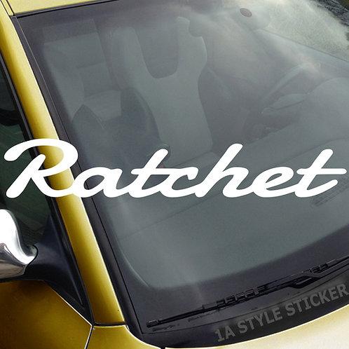 Ratchet Frontscheibenaufkleber Tuningsticker Autoaufkleber Uni Farben Sticker Tuningaufkleber Tuningszene