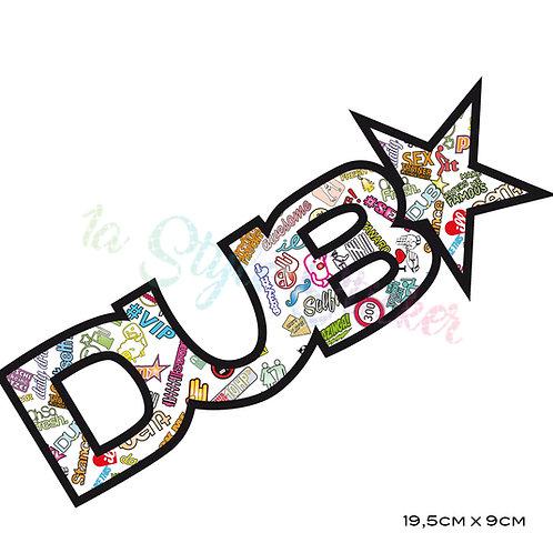 DUB STAR Auto Aufkleber 🏁 Stickerbomb Klassiker 9