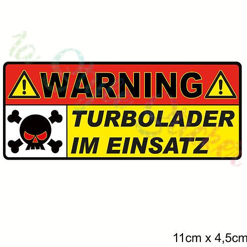 WARNING Turbolader IM EINSATZ  d16