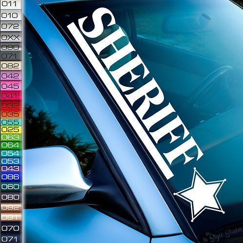 Sheriff Aufkleber F80