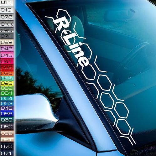Waben Aufkleber Rauten VW Golf GTI 7 Gti 8 Muster R-Line design NEU