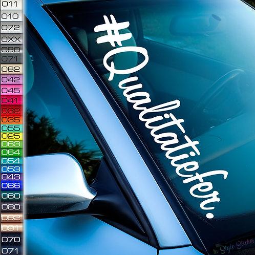 Qualitatiefer Frontscheibenaufkleber Tuningsticker Autoaufkleber Uni Farben Sticker Tuningaufkleber Tuningszene