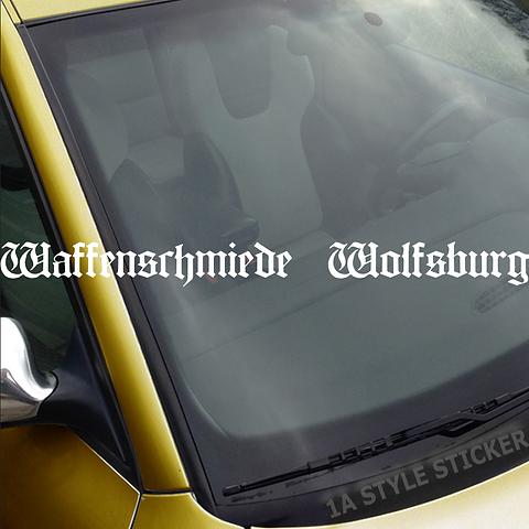 Waffenschmiede Wolfsburg Aufkleber Vw Gtd Gti R Line Clubsport 1astylesticker