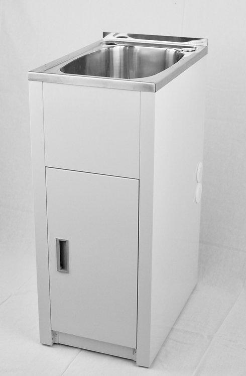 30ltr Stainless Steel Slimline Laundry Tub & Cabinet