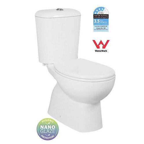 Pro Ceramic Close Coupled Toilet Suite