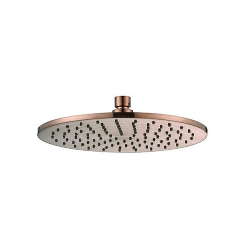 Rondo Champagne 250mm Shower Head