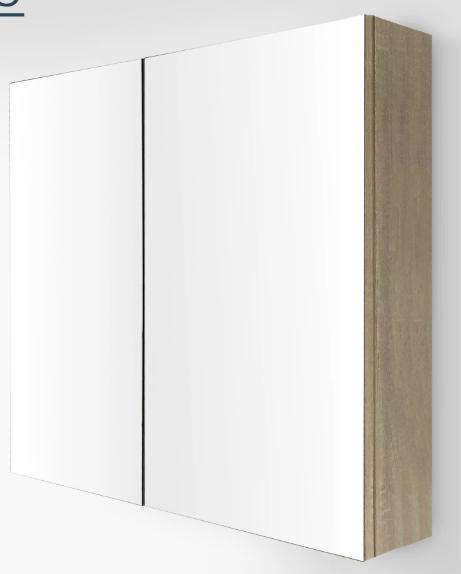 750mm Nutro Mirror Wall Cabinet