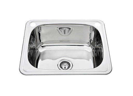 45ltr Stainless Steel Inset Laundry Tub