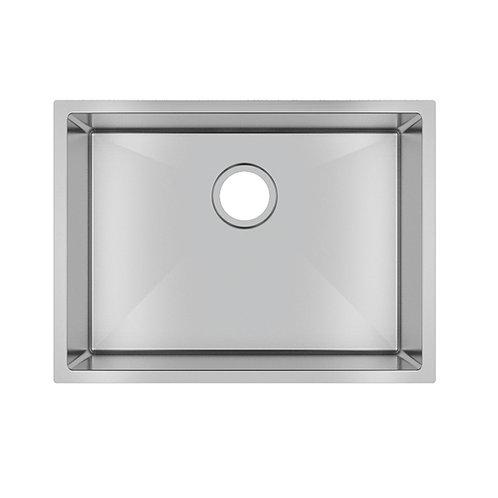 Zero 600x450mm Single Bowl Sink Stainless Steel