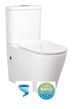 Rondo Tornado Ceramic Wall Faced Toilet Suite
