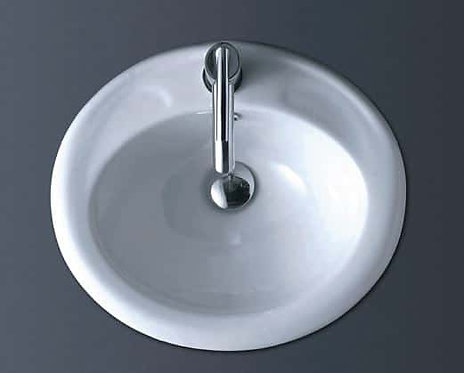 Clinda Oval Inset Basin