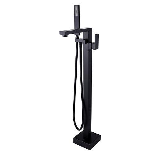 Block Black Square Freestanding Bath Mixer