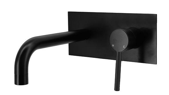 Rondo CURO Pin Handle Bath Mixer Matte Black