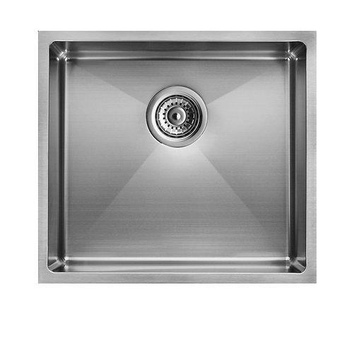 Zero 450x450mm Single Bowl Sink Stainless Steel