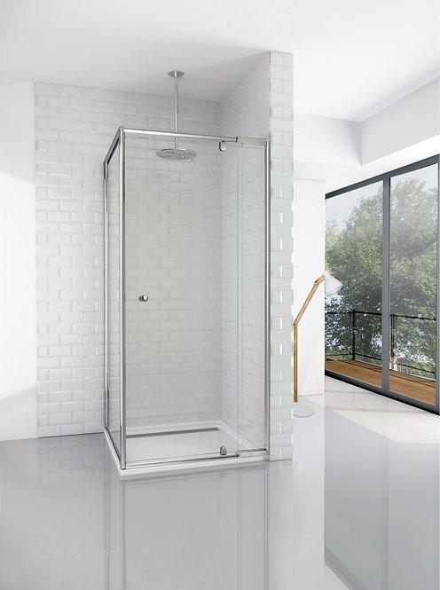 Semi Frameless Shower Screen & Return