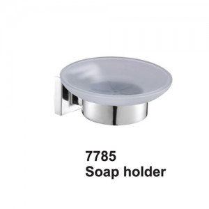 Oxford Chrome Soap Dish