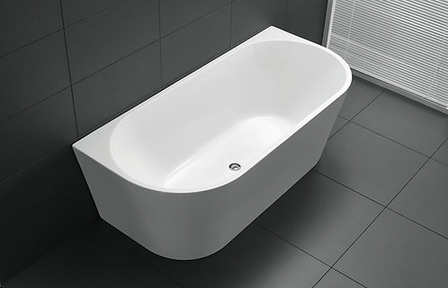 Rondo Back to Wall Freestanding Bath