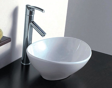Ova Above Counter Ceramic Vessel