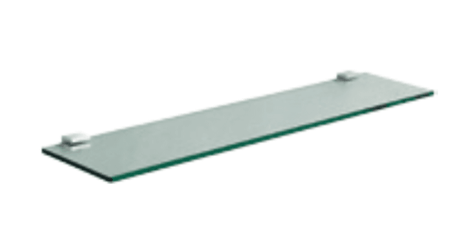 Block Glass Shelf