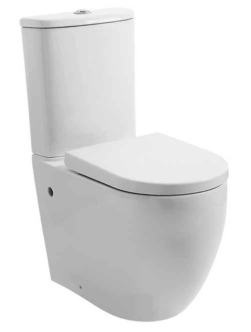 Nexus Extra Height Ceramic Wall Faced Toilet Suite