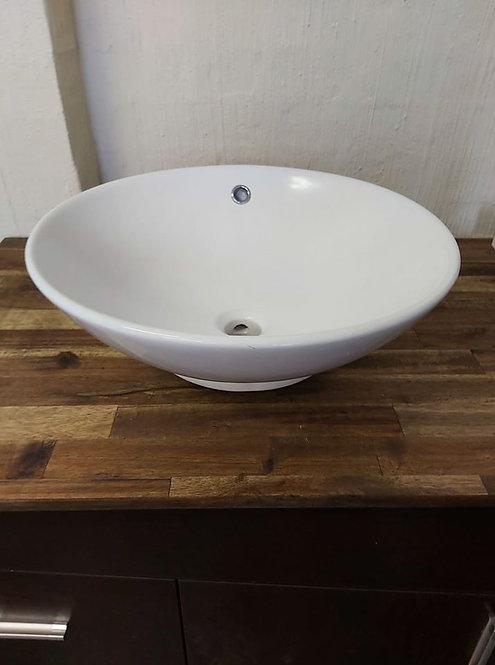 Round Ceramic Above Counter Basin