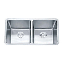 Impact Stainless Steel Undermount Double Bowl