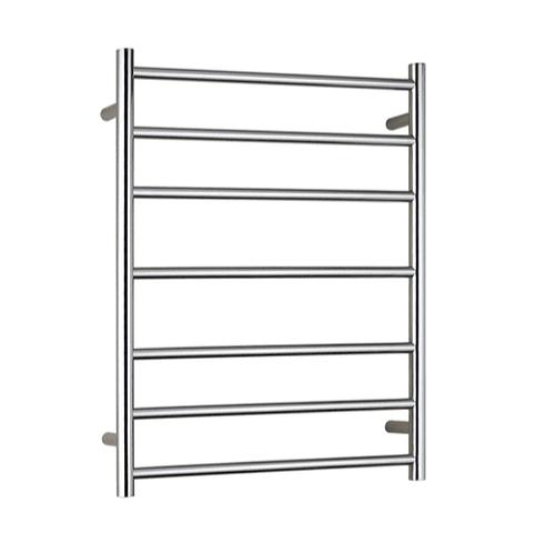 Rondo Chrome 7 bar Heated Towel Ladder