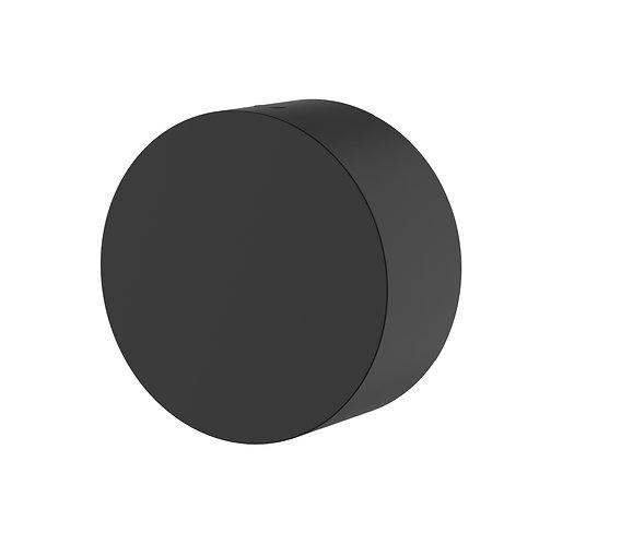 Rondo Black Progressive Wall Mixer