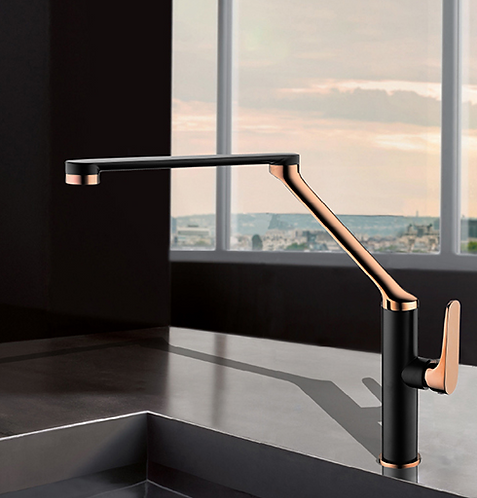 EXON 7 Sink Mixer Rose Gold