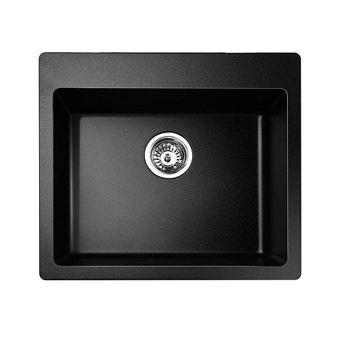 Black Granite Quartz Laundry Sink