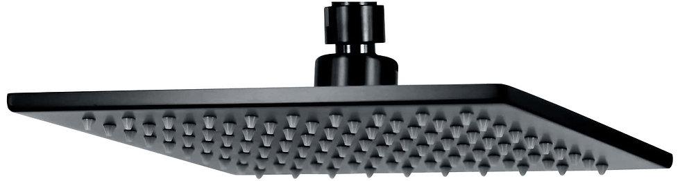 ACQUA 195mm Shower Head Matte Black